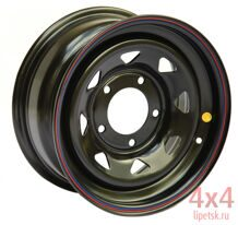 Диск OFF-ROAD Wheels 5x139,7 16х8 ET-19 (треуг.)