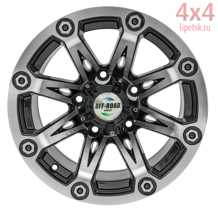 Диск OFF-ROAD Wheels 5x139,7 15х8 ET-20 D110