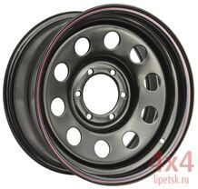 Диск OFF-ROAD WHEELS 16х7 6x139,7 d110 ET+30  (Чёрный)