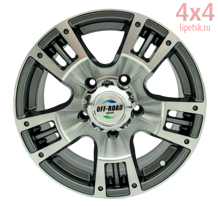 Диск OFF-ROAD Wheels 5x139,7 16х8 ET-0 D110
