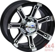 Диск OFF-ROAD Wheels 5x139,7 8xR16 ET+10 D110