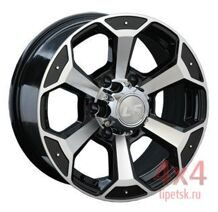Диск LS Wheels 187 5x139,7 15х10 ET-40 D108.5 BKF