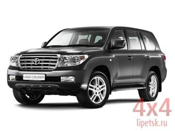 TOYOTA LAND CRUISER 200 чёрная